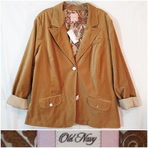 Old Navy Velvety Blazer Jacket